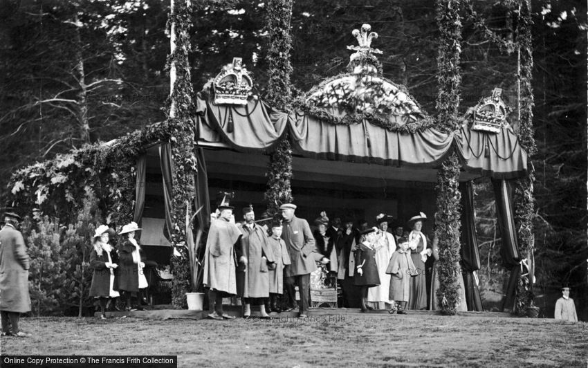 Royalty, Royal Pavilion 1905
