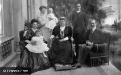 The Duchess Of Albany And Family c.1908, Royalty