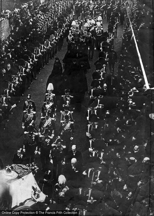 Photo of Royalty, The Royal Mourners 1910
