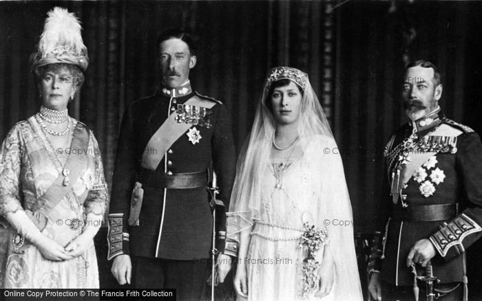 Photo of Royalty, Wedding Of Lord Lascelles And H.R.H.Princess Mary 1922