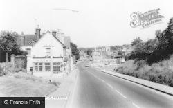 Royston, Baldock Road c.1965