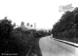 Royston, Barkway Road 1929