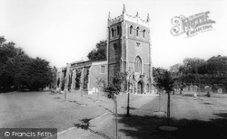 Royston, Church Of St John The Baptist c.1965