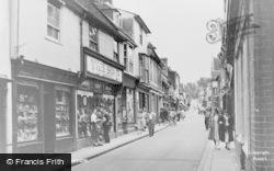 Royston, High Street c.1955