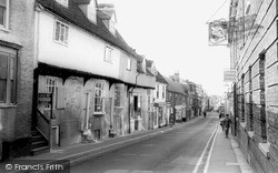 Royston, High Street c.1965