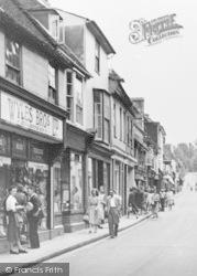 Royston, High Street Shops c.1955