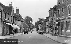 Royston, Melbourn Street c.1955