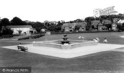 Royston, Priory Gardens c.1965