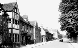 Royston, St Benedict's Priory And Melbourn Street 1929