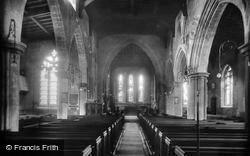 Royston, The Church Interior 1929