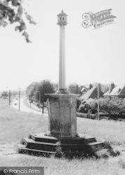 Royston, The Heath Mmemorial c.1965