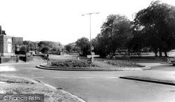 Royston, The Roundabout c.1965