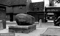 Royston, The Stone c.1955