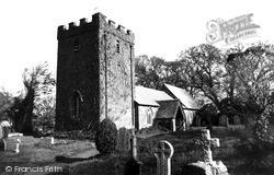 St Ruan Church c.1960, Ruan Minor