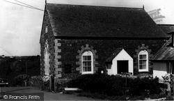 The Methodist Chapel c.1960, Ruan Minor