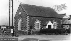 The Methodist Church c.1960, Ruan Minor