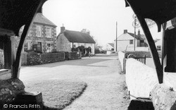The Village From The Lychgate c.1960, Ruan Minor