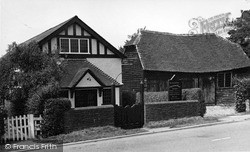 Rudgwick, Congregational Church c.1955