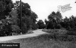 Rudgwick, Cox Green c.1960