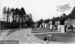 Rudgwick, Gaskyns Close c.1965