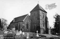 Rudgwick, Holy Trinity Church c.1955