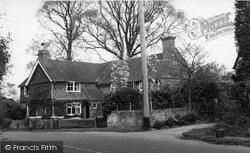Rudgwick, Jasmine House And Jasmine Cottage, Cox Green c.1955