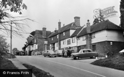 Rudgwick, King's Head And Stores c.1955