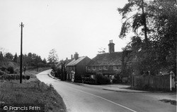Rudgwick, Main Road c.1955