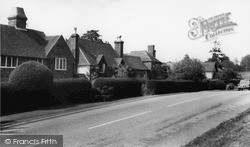 Rudgwick, Old Cottages c.1965