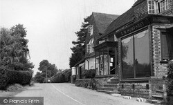 Rudgwick, Post Office c.1955