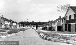 Rudgwick, The New Housing Estate c.1960