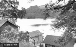 Rudyard, The Boathouse c.1955