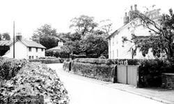 Church Road c.1955, Rufford