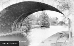 The Canal Bridge c.1950, Rufford