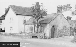 Rufford, The Village Smithy c.1955