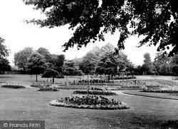 Rugby, Caldecott Park c.1955