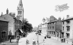 Rugby, Church Street And St Andrew's Church 1922