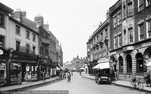 Rugby, Market Place 1932