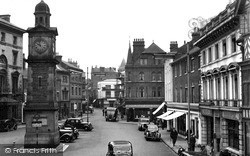 Rugby, Market Place 1949