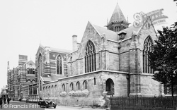 Rugby, School And Memorial Chapel 1932