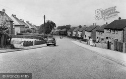 Rugeley, Birch Lane c.1955