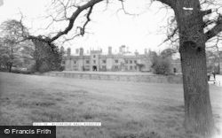 Rugeley, Blithfield Hall c.1955