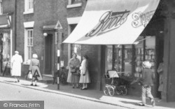 Rugeley, Boots The Chemist c.1955