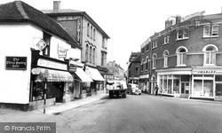 Rugeley, Brook Street 1960