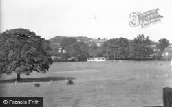 Rugeley, Cricket Ground c.1955