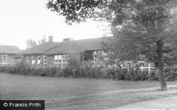 Rugeley, Dining Hall At Shooting Butts, Secondary Modern Boarding School c.1955