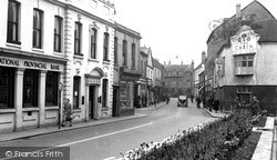 Rugeley, Lower Brook Street c.1955