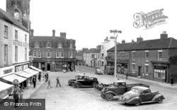 Rugeley, Market Place 1951