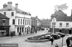 Rugeley, Market Place c.1955
