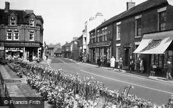 Rugeley, Market Street c.1955
